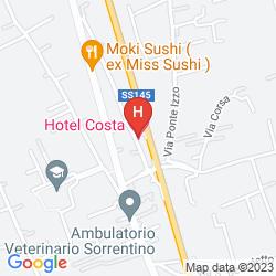 Plan COSTA HOTEL