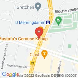 Plan METROPOL HOSTEL BERLIN