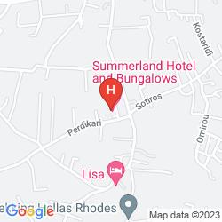 Plan HOTEL SUMMERLAND