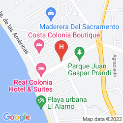 Plan REAL COLONIA HOTEL & SUITES