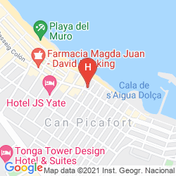 Plan APOLO HOTEL