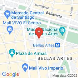 Plan APART HOTEL SAN MARINO