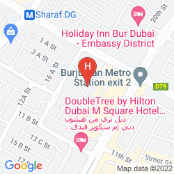 Plan ROSE GARDEN HOTEL APARTMENT - BUR DUBAI