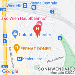 Plan ZEITGEIST VIENNA