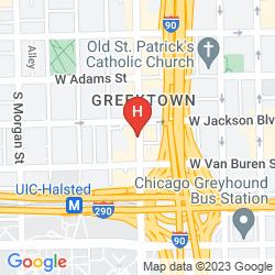 Plan CHICAGO PARTHENON HOSTEL