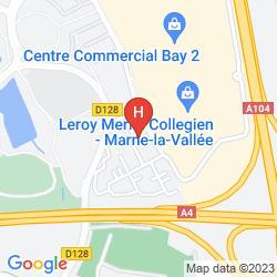 Plan CAMPANILE MARNE LA VALLEE TORCY HOTEL
