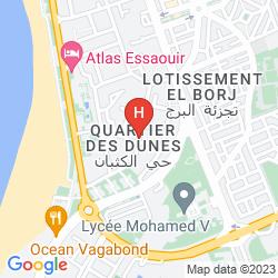 Plan HOTEL VAGUE OCEAN BLEU