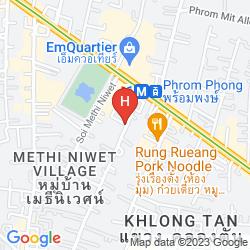 Plan HILTON SUKHUMVIT BANGKOK
