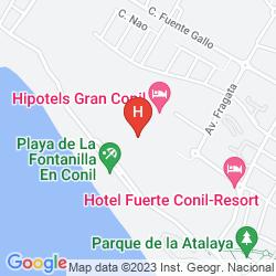 Plan HIPOTELS GRAN CONIL & SPA