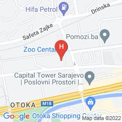 Plan ADA HOTEL SARAJEVO