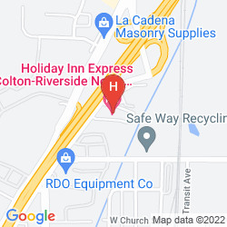 Plan HOLIDAY INN EXPRESS COLTON-RIVERSIDE NORTH