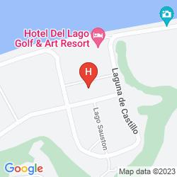 Plan HOTEL DEL LAGO GOLF & ART RESO