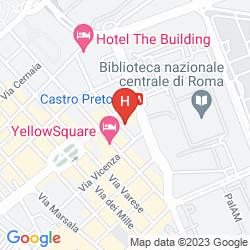 Plan ALBERGO SANDRA