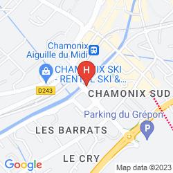 Plan RÉSIDENCE PIERRE & VACANCES LA RIVIÈRE