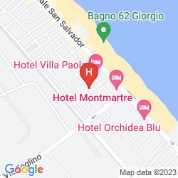Plan HOTEL VILLA DONATI