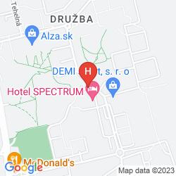 Plan HOTEL INKA