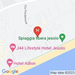 Plan HOTEL MANZONI