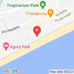 Plan HOTEL BELLARIVA