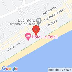 Plan HOTEL SIRENETTA