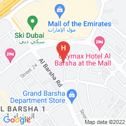 Plan DOUBLETREE BY HILTON HOTEL AND RESIDENCES DUBAI - AL BARSHA
