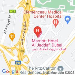 Plan MARRIOTT HOTEL AL JADDAF, DUBAI