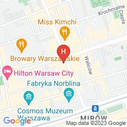 Plan LEONARDO ROYAL HOTEL WARSAW