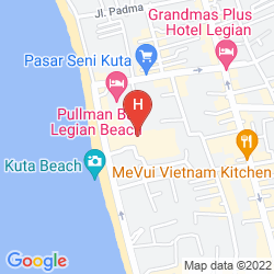 Plan THE STONES HOTEL - LEGIAN BALI, AUTOGRAPH COLLECTION