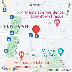 Plan CLUB HOTEL PRAHA