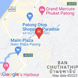 Plan PHUKET PARADISE HOTEL