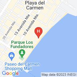 Plan FUSION BEACH HOTEL