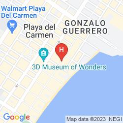 Plan HOTEL COPA
