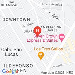 Plan HOTEL PLAZA LOS DORADOS