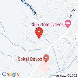 Plan CHALET-HOTEL LARIX