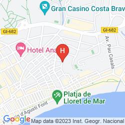 Plan ALBA SELEQTTA HOTEL SPA RESORT - LLORET