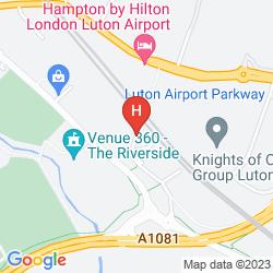 Plan IBIS LUTON AIRPORT