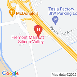 Plan FREMONT MARRIOTT SILICON VALLEY