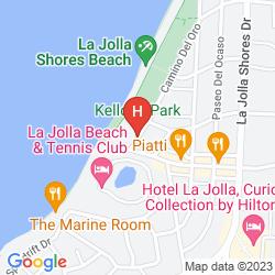 Plan LA JOLLA SHORES HOTEL
