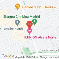 Plan ILUNION ALCALA NORTE
