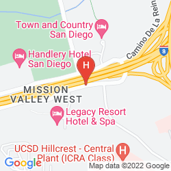 Plan HOLIDAY INN EXPRESS & SUITES SAN DIEGO - MISSION VALLEY