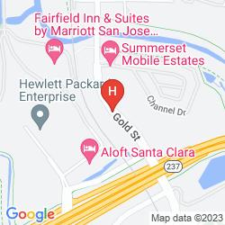 Plan EXTENDED STAY AMERICA SAN JOSE - SANTA CLARA