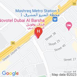 Plan APARTHOTEL ADAGIO PREMIUM DUBAI AL BARSHA