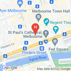 Plan FLINDERS LANE-STUDIO APARTMENT