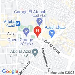 Plan HOLIDAY INN CAIRO MAADI