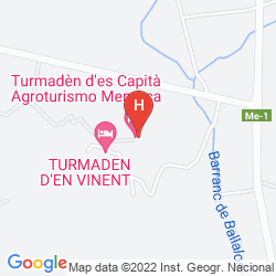 Plan AGROTURISMO TURMADEN DES CAPITA