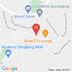 Plan SUMMERSET CONTINENTAL HOTEL ASOKORO