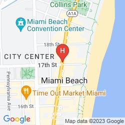 Plan HAMPTON INN MIAMI SOUTH BEACH - 17TH STREET