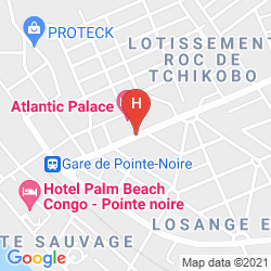 Plan ATLANTIC PALACE HOTEL