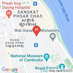 Plan ANGKOR INTERNATIONAL HOTEL