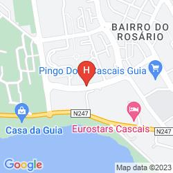 Plan PESTANA CASCAIS OCEAN & CONFERENCE APARTHOTEL
