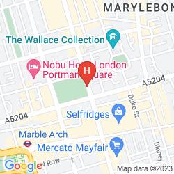 Plan HYATT REGENCY LONDON - THE CHURCHILL